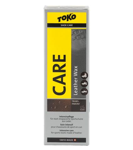 Картинка пропитка Toko Leather Wax Transparent - Silicone 75ml