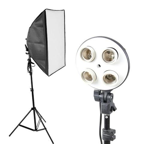 Флуоресцентный осветитель FST KF-104II 4*45Вт+софтбокс 40*60