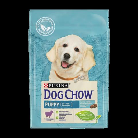 Dog Chow Puppy Сухой корм для щенков с Ягненком