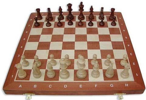 Шахматы Стаунтон №5 с доской