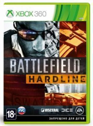 Xbox 360 Battlefield Hardline (русская версия)