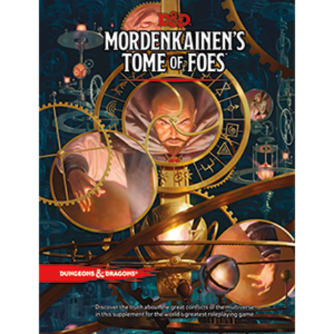 D&D Next: Mordenkainen's Tome of Foes book