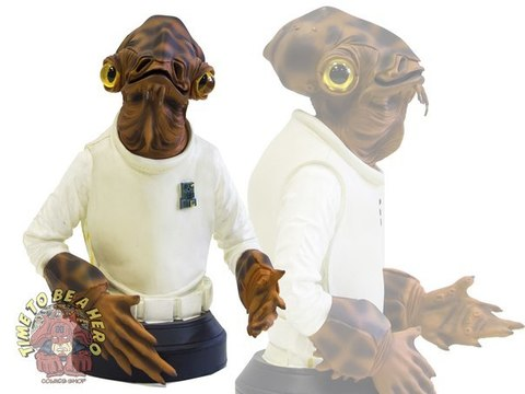 Star Wars Admiral Ackbar Mini Bust Gentle Giant