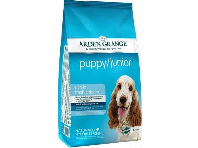 Каталог Сухой корм для щенков и молодых собак, Arden Grange Puppy/Junior, с курицей AG601283.jpg