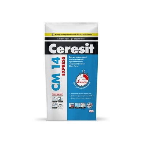Ceresit CM 14 EXPRESS/Церезит ЦМ 14 ЭКСПРЕСС быстротвердеющий клей для плитки