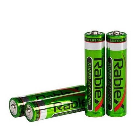 Батарейки Rablex Alkaline LR03, AAA (4/40)