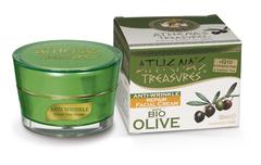 Дневной оливковый крем для зрелой кожи от морщин ATHENA'S TREASURES 50 мл