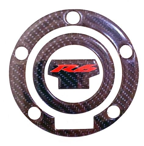 Наклейка на лючок бака Yamaha YZF-R6