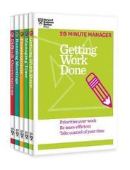 The HBR Essential 20-Minute Manager Collection (5 Books)