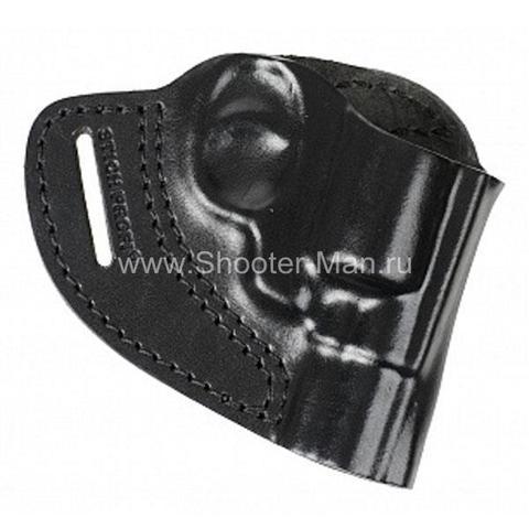 Кобура кожаная для револьвера Гроза Р-02 ( модель № 5 ) Стич Профи