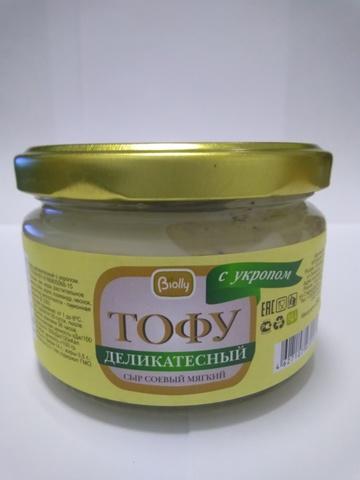 Тофу мягкий с укропом, 250г Biolly купить в Ростове