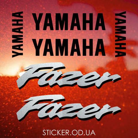 Набор виниловых наклеек на мотоцикл YAMAHA FZS600 FAZER 1999