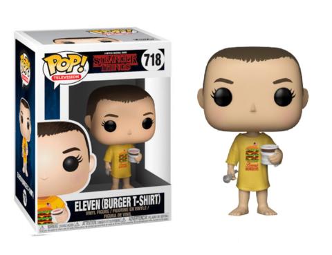 Фигурка Funko Pop! TV: Stranger Things - Eleven (Burger T-Shirt)
