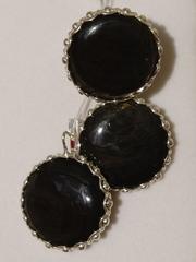 Азура (кольцо + серьги из серебра)