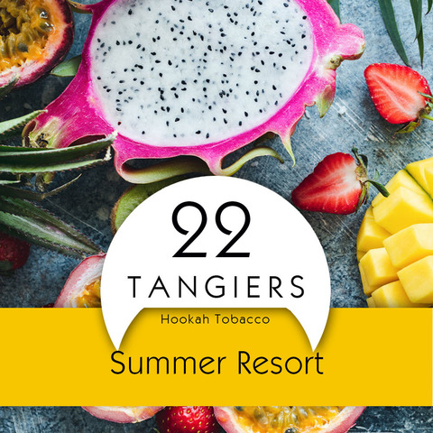 Табак Tangiers 250 Noir Summer Resort