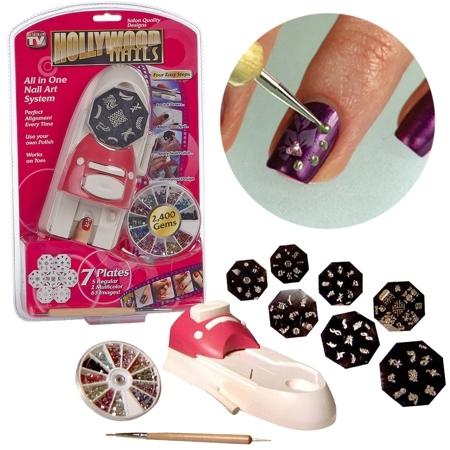 Подарки на 8 марта Принтер-штамп для ногтей Hollywood Nails (Голливудские ногти) byi_holliwood_nails.jpg