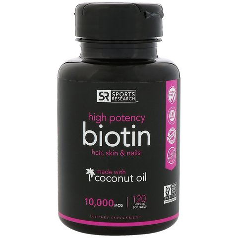 Sports-Research-Biotin-with-Organic-Coconut-Oil-10-000-mcg-120-Veggie-Softgels-1