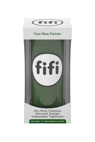Зеленый нереалистичный мастурбатор FIFI MALE