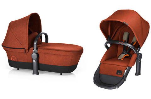 Коляска 2 в 1 Cybex Priam Light Seat RB Autumn Gold
