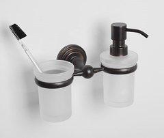 Дозатор для жидкого мыла WasserKRAFT Isar K-7389 со стаканом