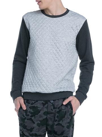 BAC004923 Джемпер для мальчиков, серый меланж