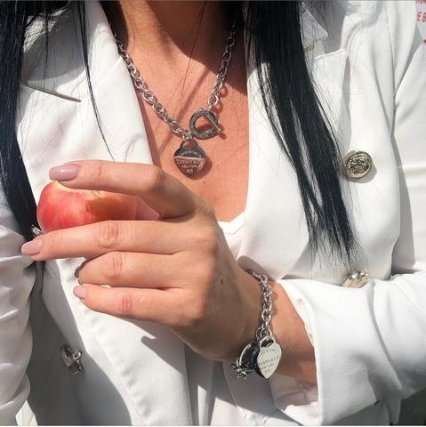 Комплект Tiffany Серебро