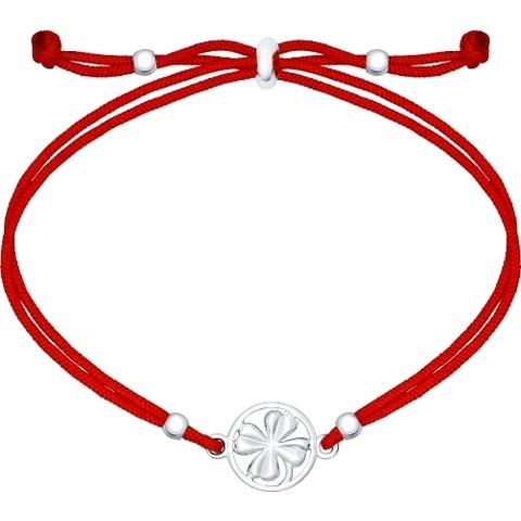 94050368- Браслет-красная нить с подвеской