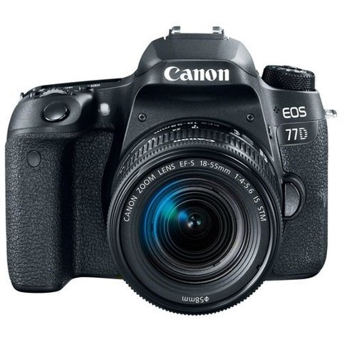 Canon EOS 77D Kit 18-135mm IS
