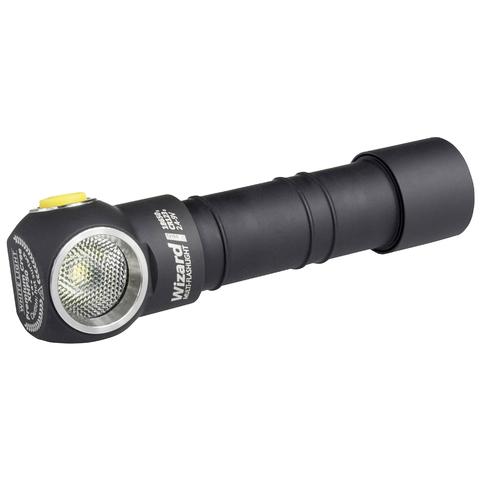 Мультифонарь светодиодный Armytek Wizard Pro v3 Magnet USB+18650, 2300 лм, аккумулятор