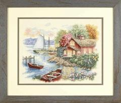 DIMENSIONS Спокойный дом у озера (Peaceful Lake House)