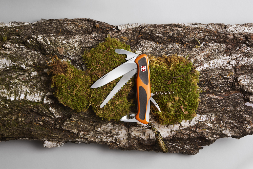 Складной нож Victorinox Ranger Grip 55 Autumn Spirit Special Edition 2019 (0.9563.C91) - Wenger-Victorinox.Ru