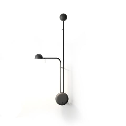 Настенный светильник копия Pin 1685 by Vibia (черный)
