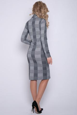 """<p>Платье - водолазка в принте """"клетка"""" - отличное решение для модного гардероба этой зимой! (Длины: 46=103см; 48=104см; 50=105см)&nbsp;</p>"""