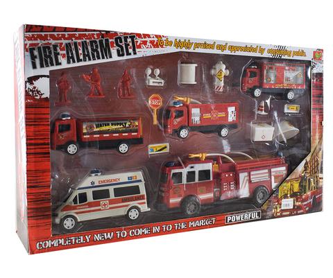 Набор пожарных машин