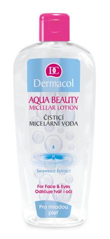 Dermacol Aqua Beauty Очищающая мицеллярная вода с экстрактом морской водоросли, 400мл