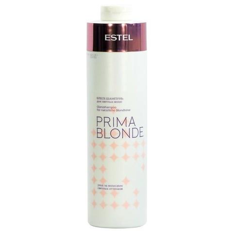 Блеск - шампунь  для светлых волос Prima Blonde Estel, 1000 мл