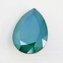 4320 Ювелирные стразы Сваровски Капля Crystal Royal Green (18х13 мм)