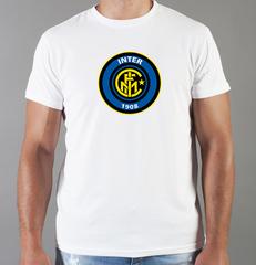 Футболка с принтом FC Internazionale (ФК Интернационале) белая 007
