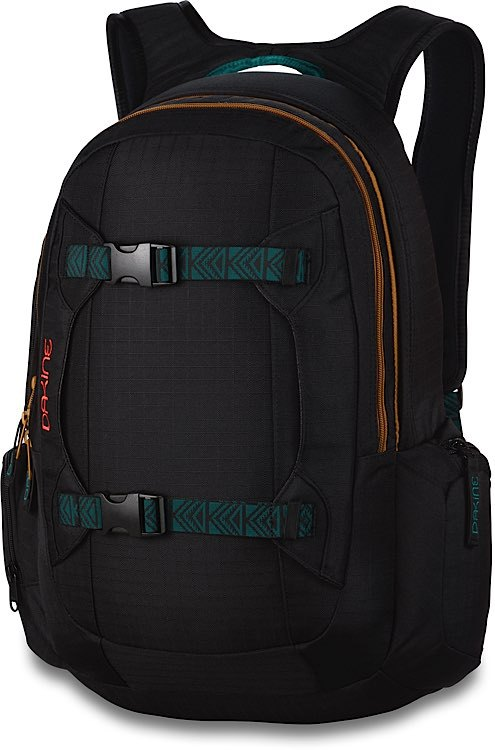 Dakine Mission 25L Рюкзак женский Dakine WOMENS MISSION 25L BLACK RIPSTOP 2016W-08200200-WOMENSMISSION25L-BLACKRIPSTOP.jpg