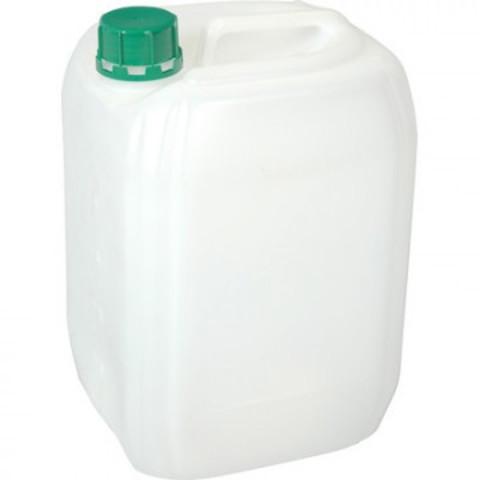 Канистра пластик 5 л белая с крышкой