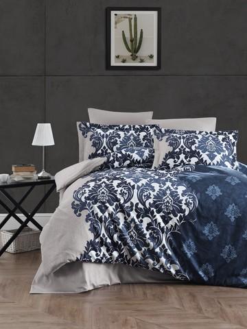 Комплект постельного белья Сатин DELUX 1,5 спальное SIERRA, фото