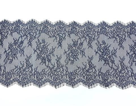 Кружево реснички темно-синее (23*300 см)