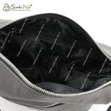 Сумка Саломея 1057 токио серый + черный