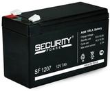 Аккумулятор Security Force SF 1207 ( 12V 7Ah / 12В 7Ач ) - фотография