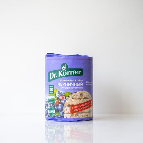 Хлебцы черничные Dr Korner, 100гр