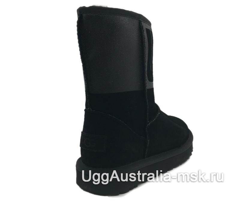 UGG Classic Short Rubber Boot Black
