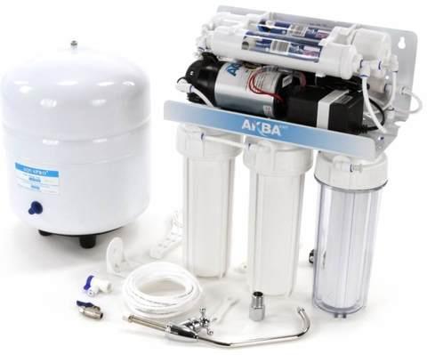 Система водоочистная AquaKit RX-50 B-1 (RO система 5 ступеней с НПД)