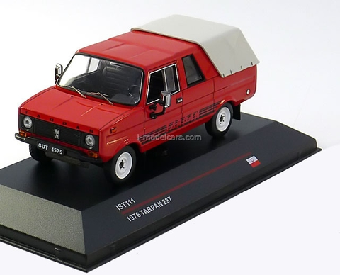 Tarpan 237 red 1976 IST111 IST Models 1:43