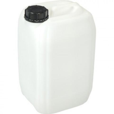 Канистра пластик 10 л белая с крышкой