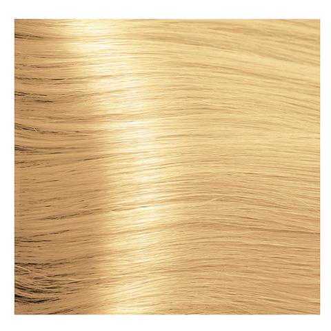 Крем краска для волос с гиалуроновой кислотой Kapous, 100 мл - HY 10.3 Платиновый блондин золотистый